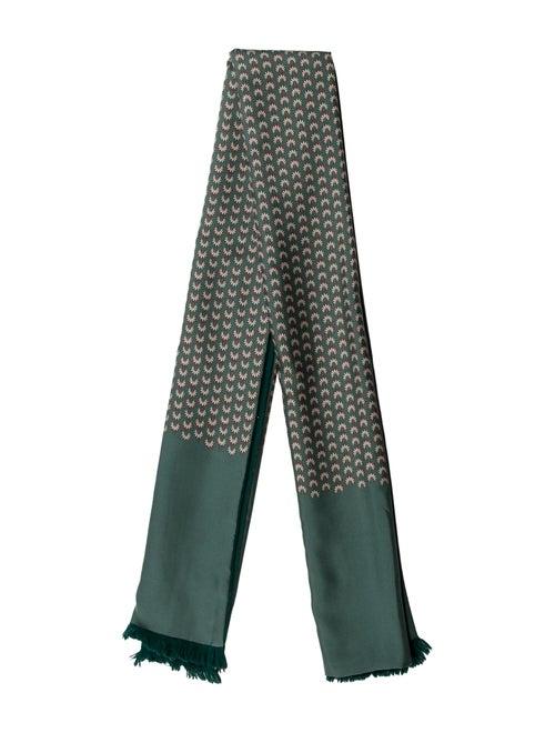 Hermès Angora Silk Muffler