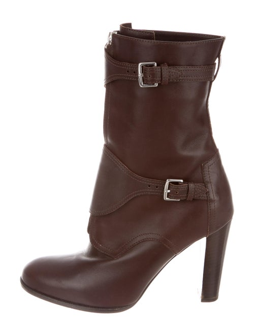 Hermès Leather Boots Brown