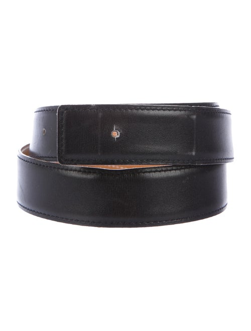 Hermès Reversible 32Mm Belt Strap Noir