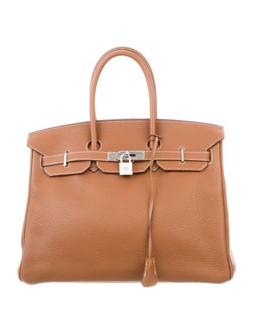 Hermès Clemence Birkin 35 Gold