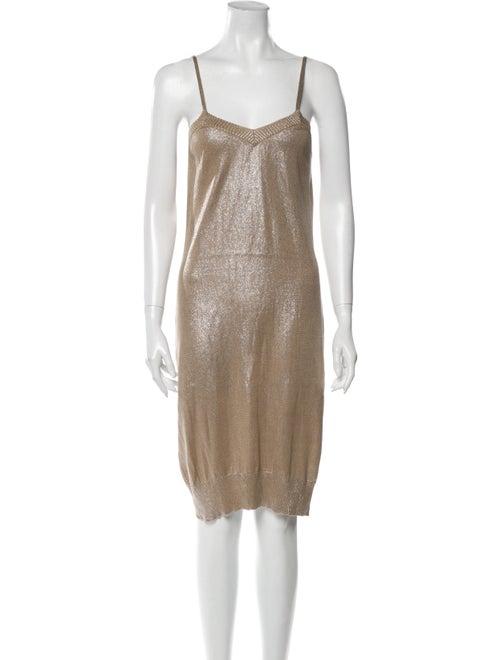 Hermès Silk Midi Length Dress