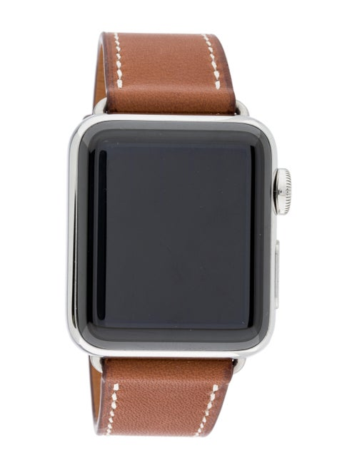 Hermès x Apple Series 3 Watch brown