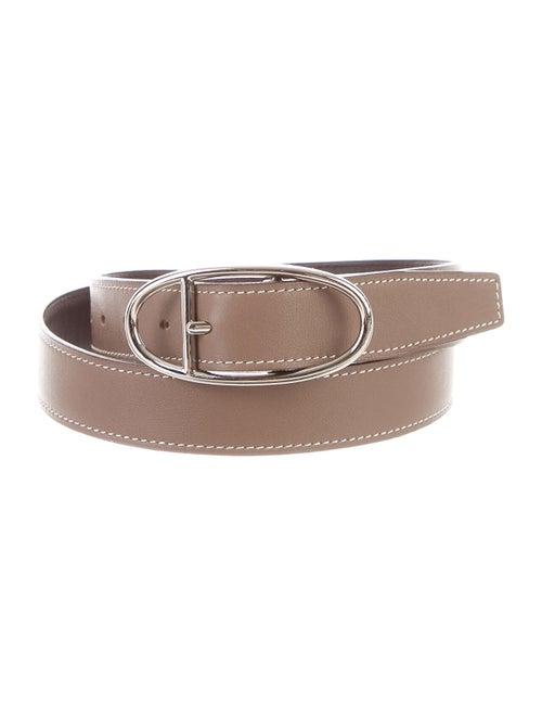 Hermès Reversible 24mm Belt Kit Chocolat