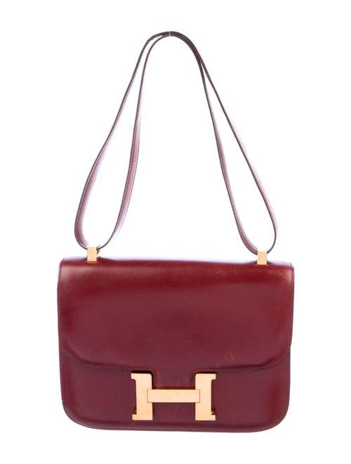 Hermès Vintage Box Constance 24 Rouge