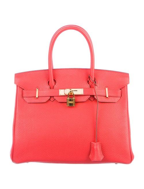 Hermès Togo Birkin 30 Rouge