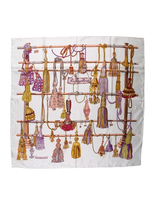 Hermès Passementerie Silk Scarf multicolor