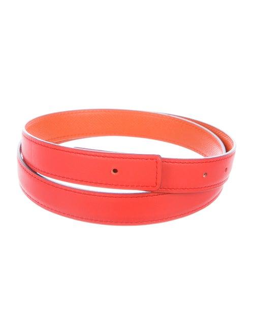 Hermès Reversible 24Mm Belt Strap Rouge