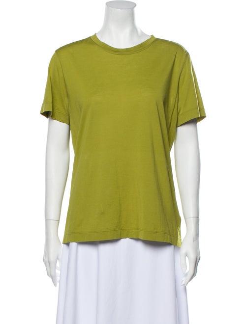 Hermès Crew Neck Short Sleeve T-Shirt Green