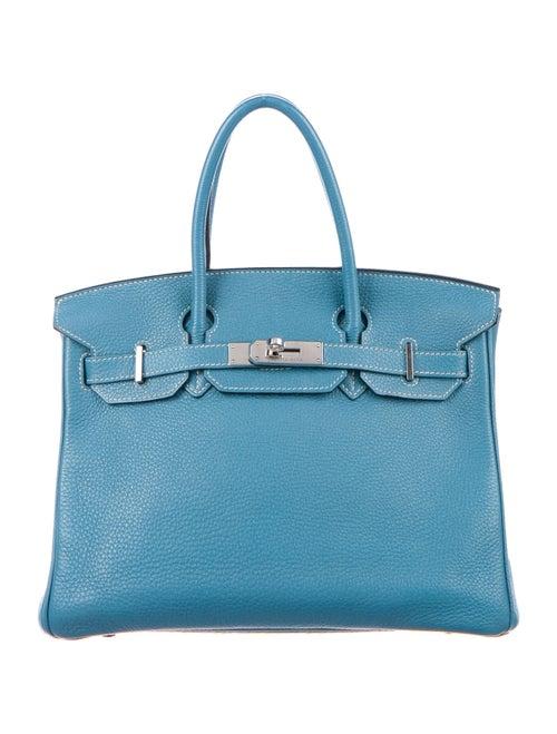 Hermès Togo Birkin 30 Bleu