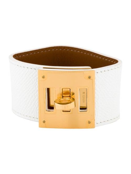 Hermès Kelly Dog Bracelet Yellow