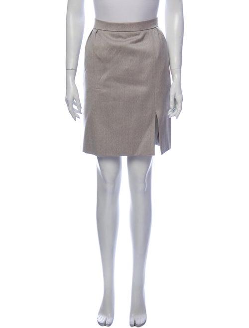 Hermès Vintage Knee-Length Skirt Wool