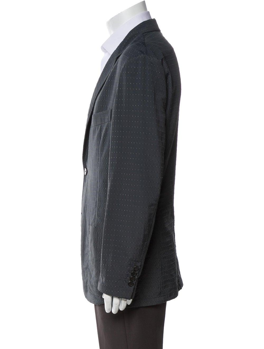 Hermès Printed Sport Coat Blue - image 2