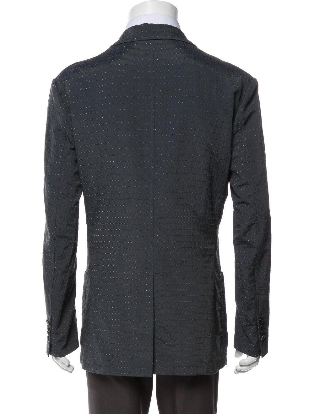 Hermès Printed Sport Coat Blue - image 3