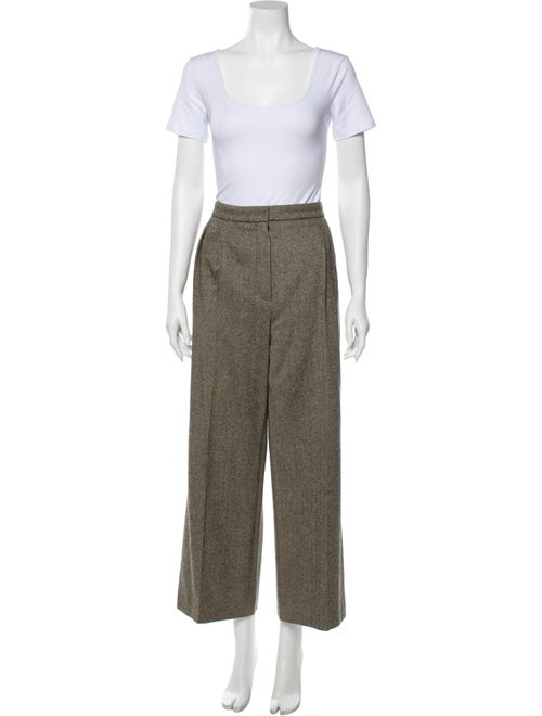 Hermès Vintage Virgin Wool Pantsuit Wool