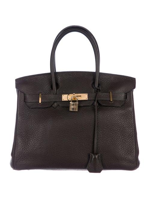 Hermès Clemence Birkin 30 gold