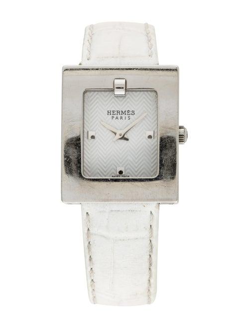 Hermès Belt Watch White