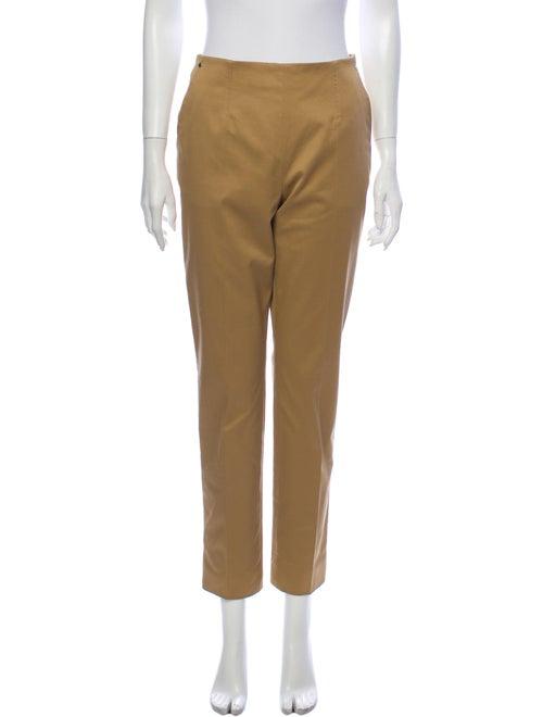 Hermès Straight Leg Pants Orange