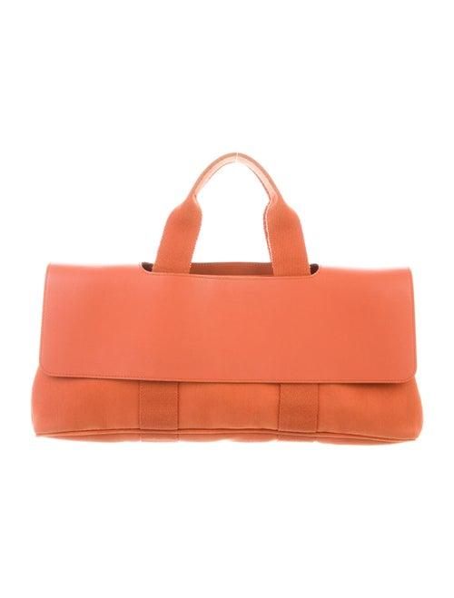 Hermès Toile Valparaiso PM Orange