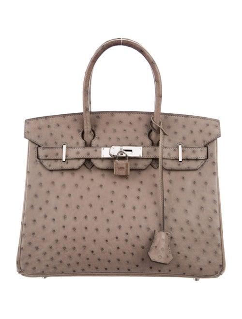 Hermès Ostrich Birkin 30