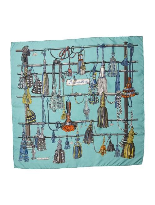 Hermès Pasementerie Silk Scarf Silk Scarf Blue