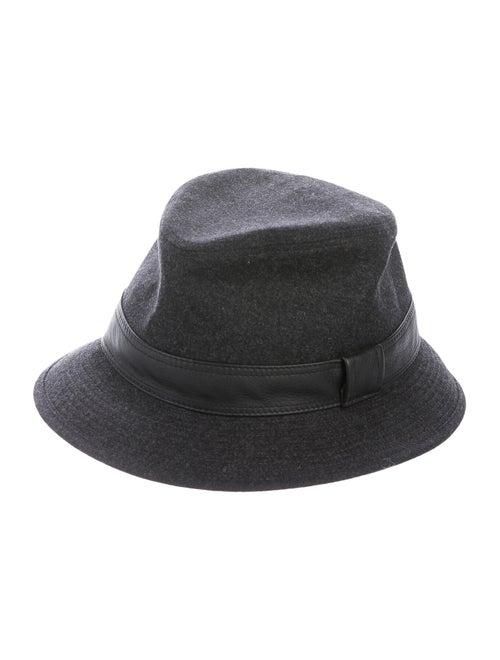 Hermès Felt Fedora Hat wool