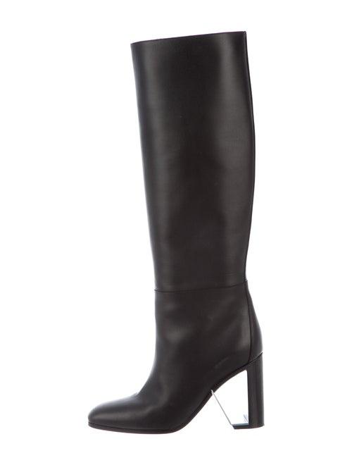 Hermès 2020 Britney Boots Leather Boots Black
