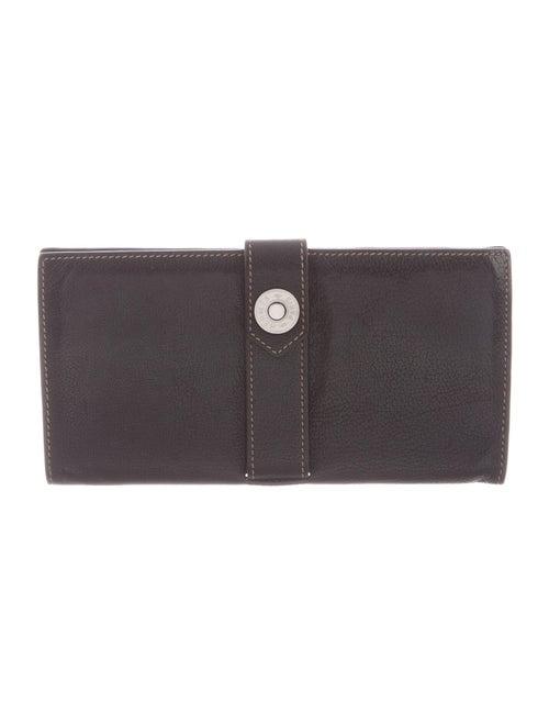 Hermès Buffle Dimitri Wallet Noir