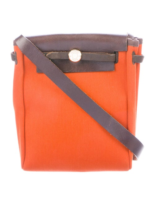 Hermès Toile Herbag TPM Orange