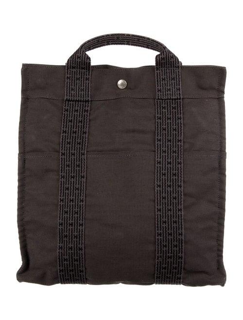 Hermès Toile Herline Backpack Grey