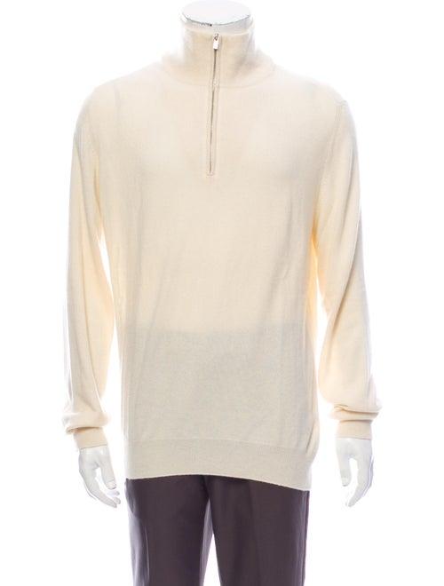 Hermès Cashmere Mock Neck Pullover