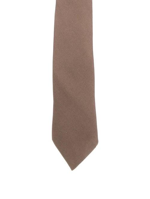 Hermès Silk Tie brown