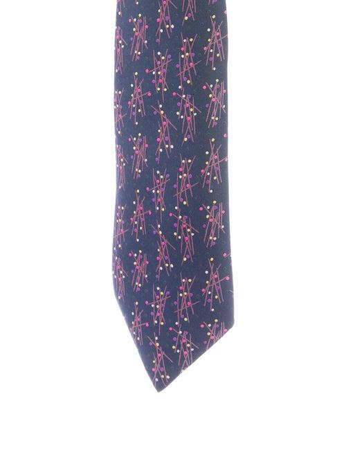 Hermès Hermes Silk Tie blue