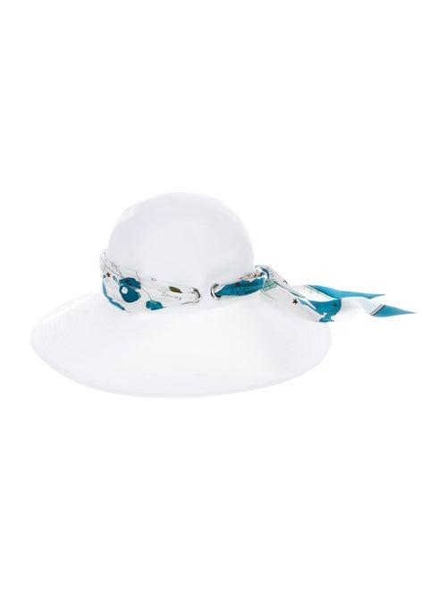 Hermès Monaco Sun Hat White