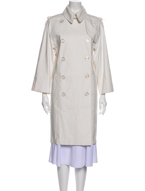 Hermès Trench Coat White