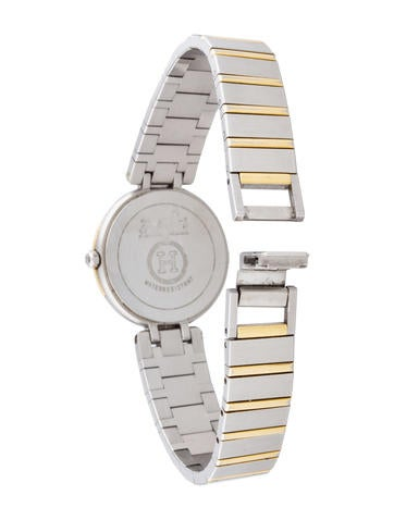 Two-Tone Quartz Watch