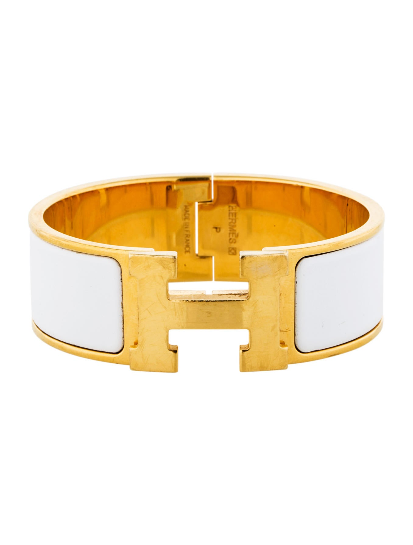 herm 232 s wide clic clac bracelet bracelets her33905 the realreal