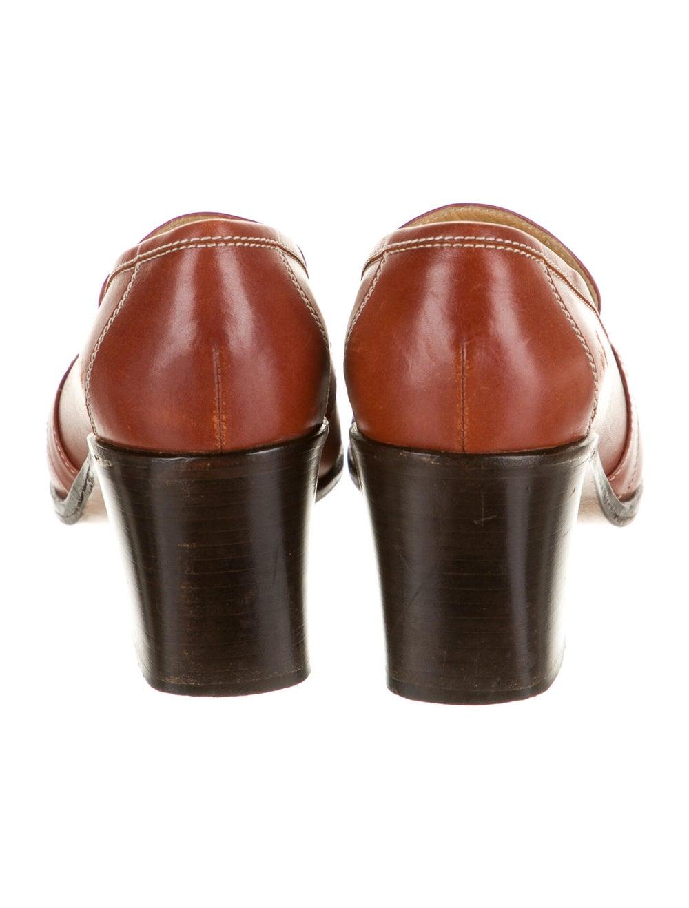 Hermès Vintage Leather Pumps - image 4