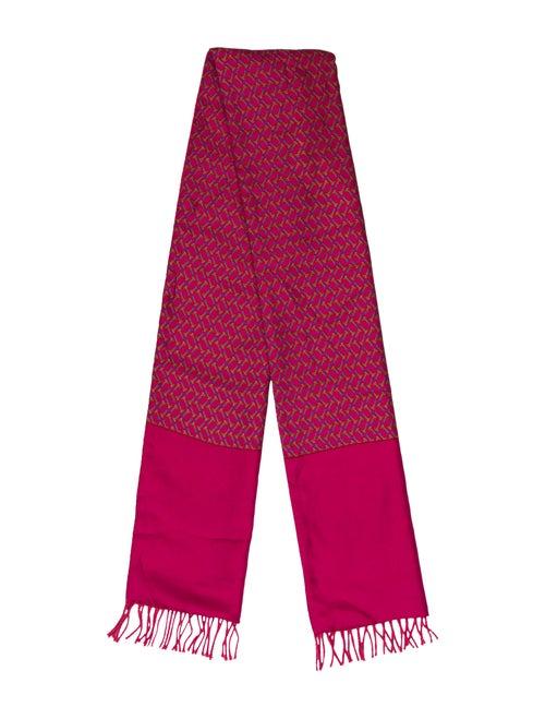 Hermès Silk Vintage Muffler Pink
