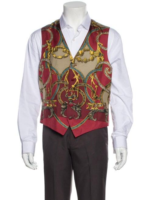 Hermès Vintage Hermes Instruction Du Roy Suit Vest