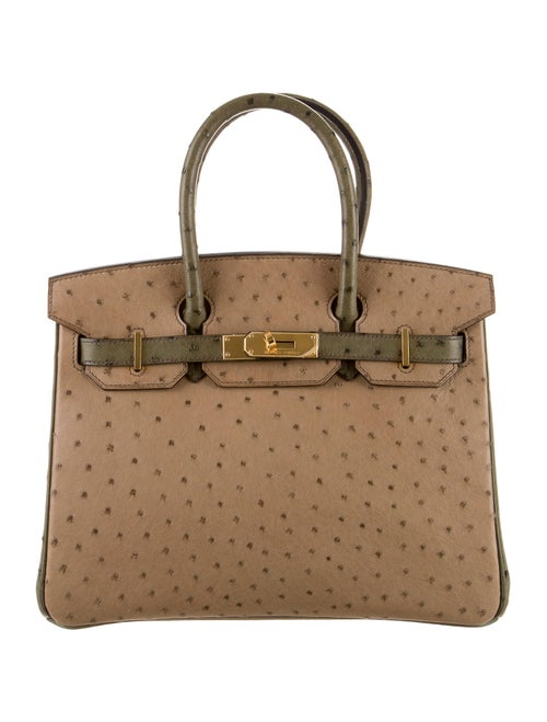 f868f93c3939 Hermès Special Order Ostrich Birkin 30 - Handbags - HER48417