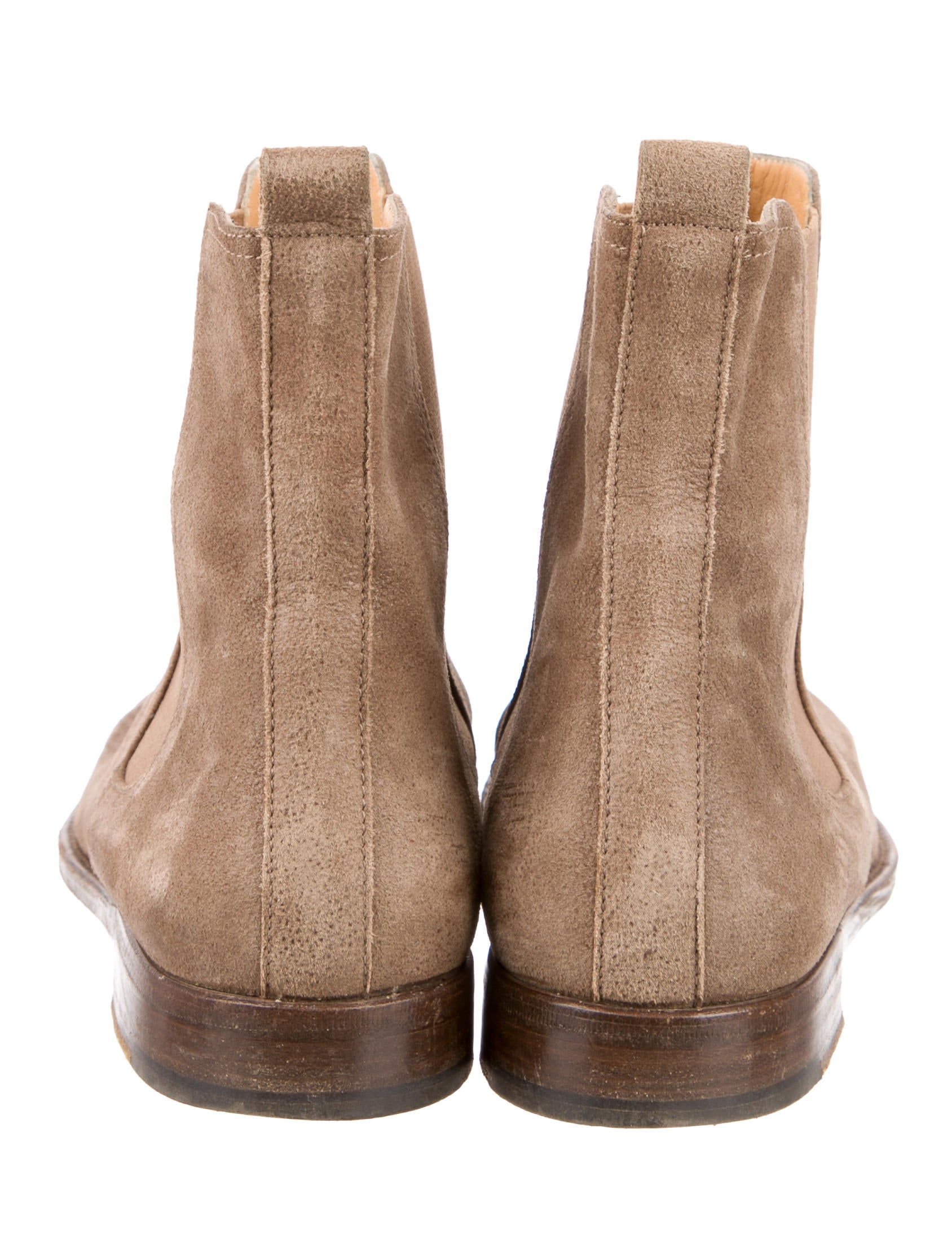 herm 232 s chelsea suede ankle boots shoes her53231 the