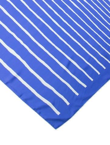 Striped Silk Scarf