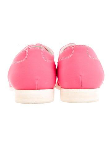 Round-Toe Oxfords