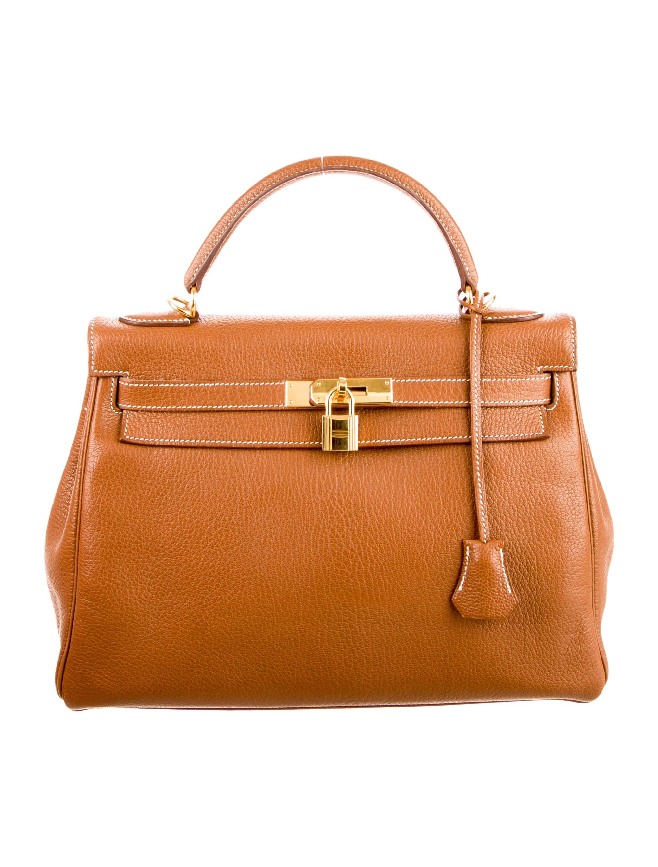 Hermès Chevre de Coromandel Kelly Retourne 32 - Handbags - HER62632 ... e62520ca520bb
