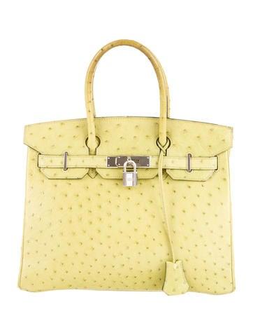 Birkin bag 30 ostrich