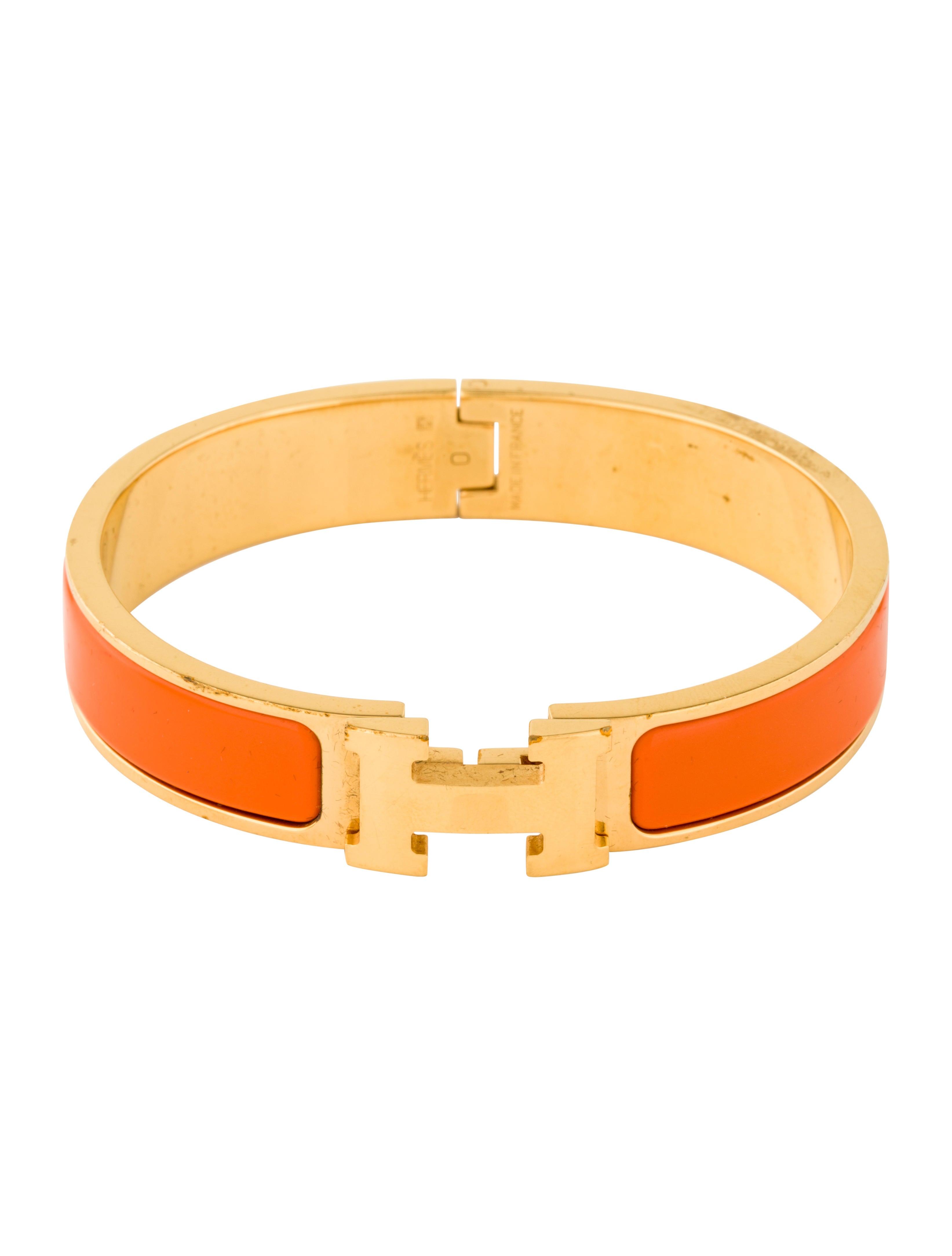 herm 232 s clic h bracelet bracelets her65454 the realreal