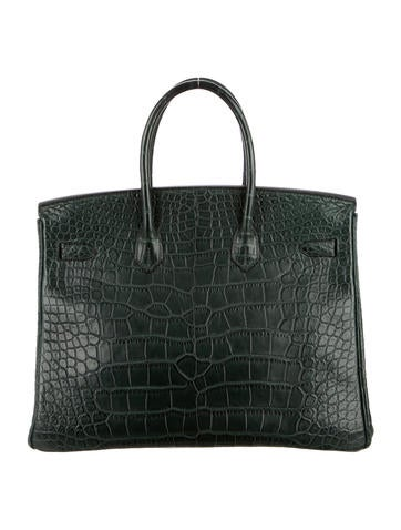 Alligator Birkin 35