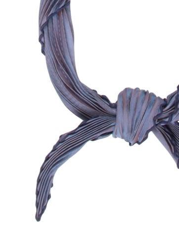 Silk Plissé Scarf