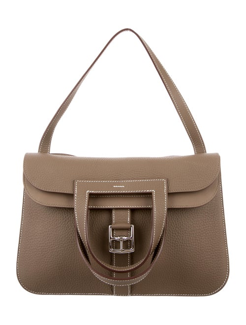 4eb876a3607c Hermès Clemence Halzan Bag - Handbags - HER67692