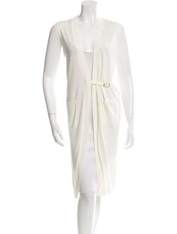 Hermès Knit Longline Vest None